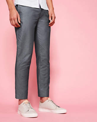 Ted Baker NUTRO Cotton and linen-blend trousers