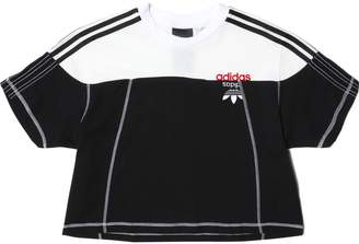 adidas Women's AW DISJOIN CROP TOP