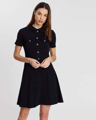 Dorothy Perkins Utility Horn Button Dress