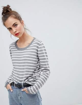 Blend She Lina Stripe Knit Sweater
