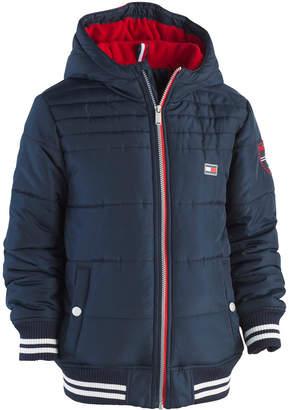 Tommy Hilfiger Big Boys Bailey Hooded Puffer Jacket