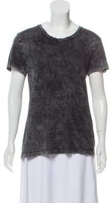 Rag & Bone Acid Wash Crew Neck T-Shirt