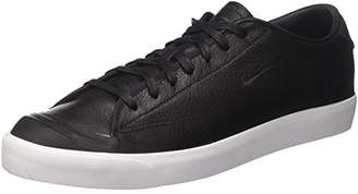 Nike Men's All Court 2 Low Leather Top Sneakers, Black-White