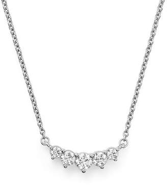 Bloomingdale's Graduated Diamond Necklace in 14K White Gold, .75 ct. t.w.