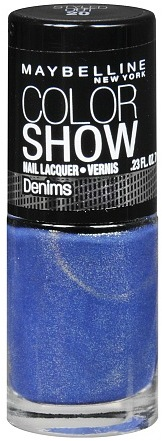 Maybelline Denims Nail Lacquer Styled Out