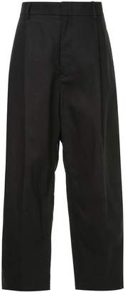 Sofie D'hoore cropped wide leg trousers