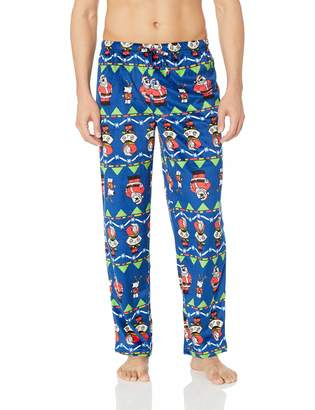 Briefly Stated Men's Family Guy Christmas Lounge Pants, Blue, M