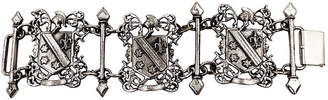 One Kings Lane Vintage Monet Coat-of-Arms Bracelet - Carrie's Couture