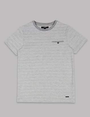 Autograph Cotton Rich Textured T-Shirt (3-16 Years)