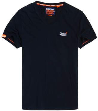 Superdry Orange Label Vintage Embroidery V-Neck T-Shirt