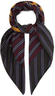 Loewe Hello silk scarf