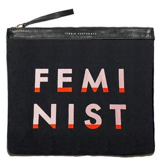 Lizzie Fortunato Oversized Pouch in Feminist