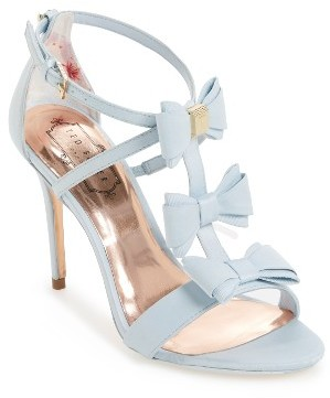Women's Ted Baker Appolini Bow Sandal $209.95 thestylecure.com