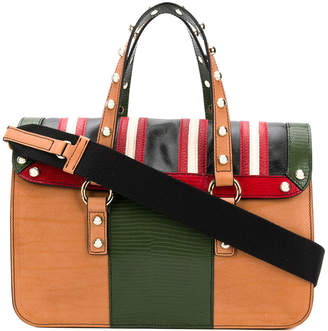 RED Valentino colour-block tote bag