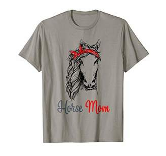 a6db4a1f47 Horse Mom T-shirt Gift For Women Mother's Day