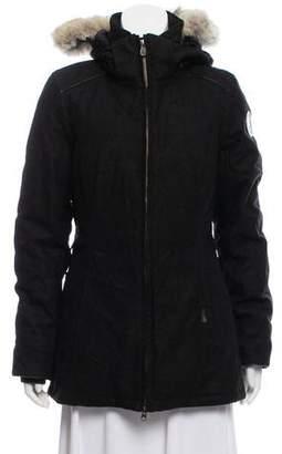Canada Goose Heather Puffer Coat