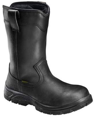"Avenger Work Boots Avenger Men's 7847 11"" Comp Toe Waterproof Pull On Wellington EH Work Boot"