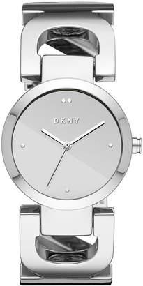 DKNY Women's City Link Stainless Steel Bangle Bracelet Watch 36mm