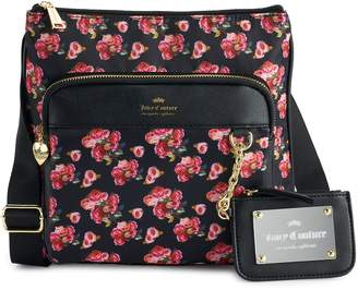 Juicy Couture Varsity Blooms Mid Crossbody Bag