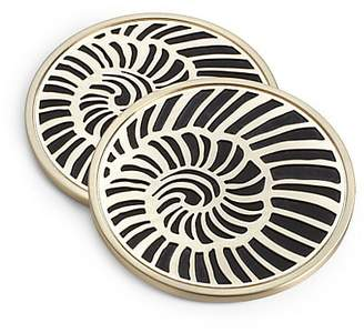 L'OBJET Four-Piece Shell Coasters
