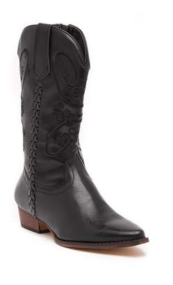 Western Girl May Western Embroidered Boot