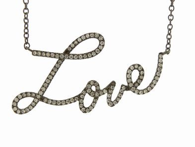 Joannes Treasure Hunt Love Script in Diamonds