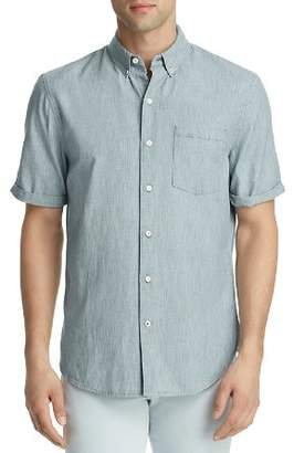 Joe's Jeans John Striped Denim Regular Fit Button-Down Shirt