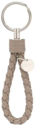 Bottega Veneta Intrecciato leather keyring