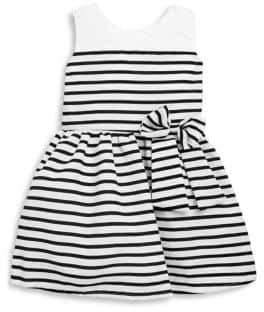Little Girl's Kelly Striped Sleeveless Dress