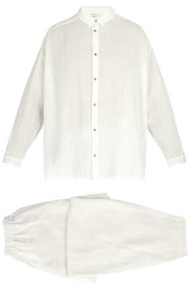 Once Milano - X Toogood Linen Pyjama Set - Mens - White