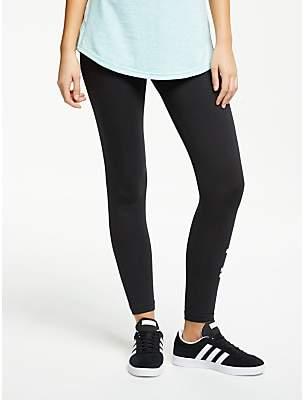 871666ba733d1 adidas Essentials Linear Tights, Black/White