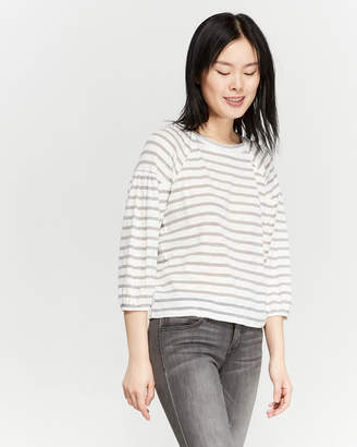 Jessica Simpson Striped Long Sleeve Tee