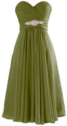ThaliaDress Short Chiffon Sweetheart Evening Bridesmaid Dresses Prom Gowns T003LF US