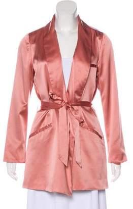 Reformation Silk Tie Blazer w/ Tags