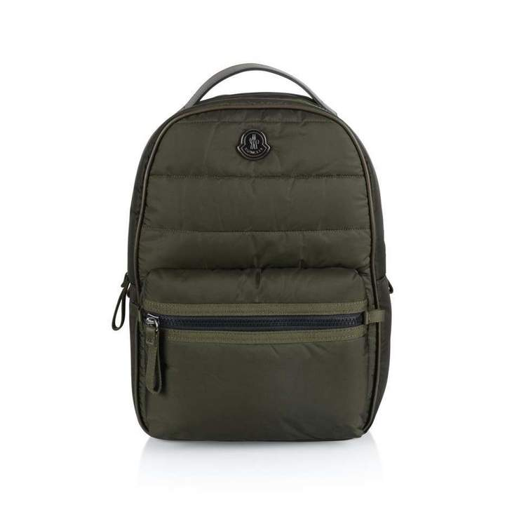 MonclerGreen Padded Backpack