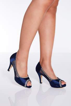 839625eaf34c Blue Low Heel Heels - ShopStyle UK
