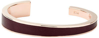 Karen Millen Leather Contour Cuff