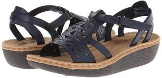 White Mountain Chambray Women's Wedge Shoes
