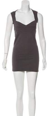 Monrow Sleeveless Mini Dress
