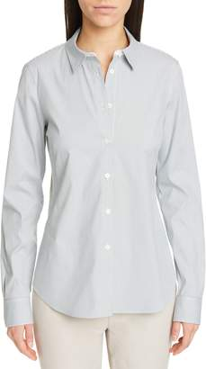 Lafayette 148 New York Montego Parkside Stripe Blouse