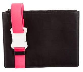 Christopher Kane Leather Buckle Clutch