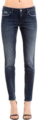 Diesel Skinny Distressed Cotton Denim Jeans