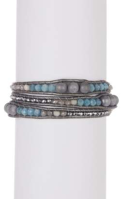 Chan Luu Triple Strand Beaded Bracelet