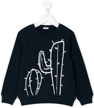 Il Gufo cactus print sweatshirt