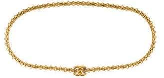 Chanel CC Turn-Lock Chain-Link Belt