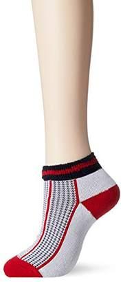Fila (フィラ) - (フィラ テニス)FILA TENNIS テニスアクセサリー 靴下 アンクルソックス 17FW VL9129 [レディース] VL9129 01 ホワイト F