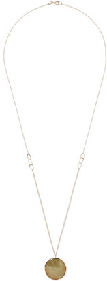 Melissa Joy Manning - 14-karat Gold Sapphire Necklace $6,000 thestylecure.com