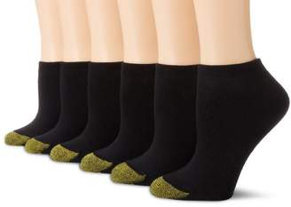 Gold Toe Women's 6-Pack Sport Cushion No Show Sock