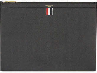 Thom Browne Medium leather document holder