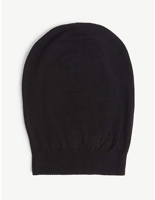 Rick Owens Ribbed wool beanie